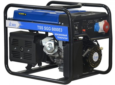 Бензиновый генератор ТСС SGG 6000 E3 (новая модель) с АВР