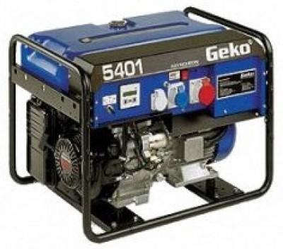 Бензиновый генератор Geko 5401 ED-AA/HEBA BLC