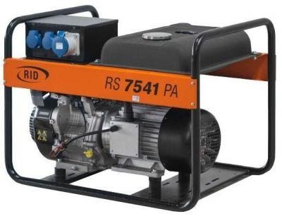 Бензиновый генератор RID RS 7541 PA