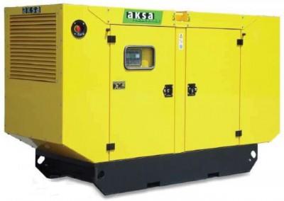 Дизельный генератор Aksa AC-350 в кожухе