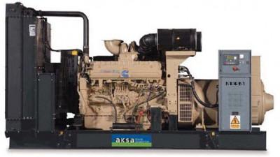 Дизельный генератор Aksa AC-400 с АВР