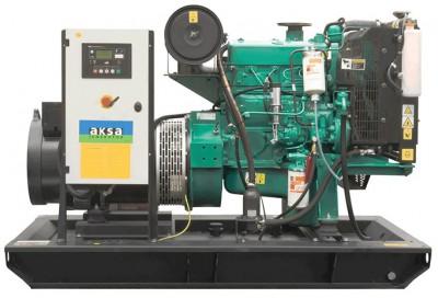 Дизельный генератор Aksa AC-55 с АВР