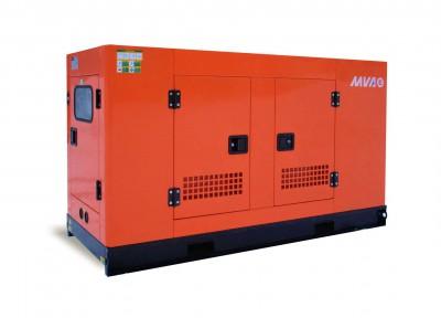 Дизельный генератор MVAE АД-25-400-Р в кожухе