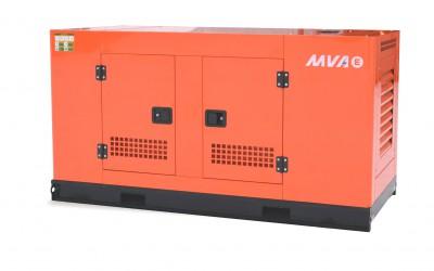 Дизельный генератор MVAE АД-60-400-АР в кожухе с АВР