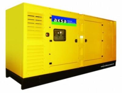 Дизельный генератор Aksa AD-550 в кожухе