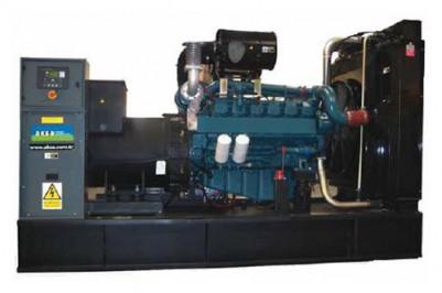 Дизельный генератор Aksa AD-550 с АВР