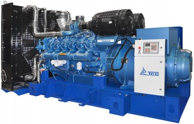 Дизельный генератор ТСС TBd 1100SA с АВР