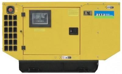 Дизельный генератор Aksa AJD 110 в кожухе