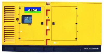 Дизельный генератор Aksa AD-660 в кожухе