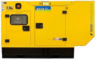 Дизельный генератор Aksa AP 15 в кожухе