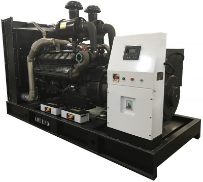 Дизельный генератор АМПЕРОС АД 400-Т400 с АВР
