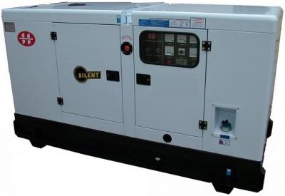 Газовый генератор АМПЕРОС АГ 120-Т400 в кожухе