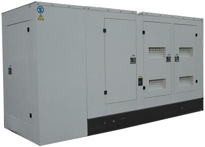Дизельный генератор АМПЕРОС АД 300-Т400 P (Проф) в кожухе