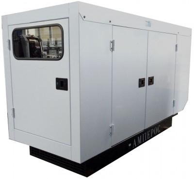 Дизельный генератор АМПЕРОС АД 30-Т400 P (Проф) в кожухе