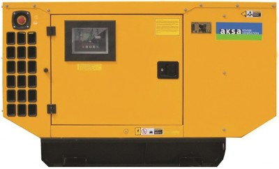 Дизельный генератор Aksa AP 22 в кожухе с АВР