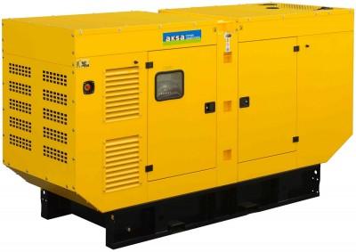 Дизельный генератор Aksa APD90A в кожухе с АВР