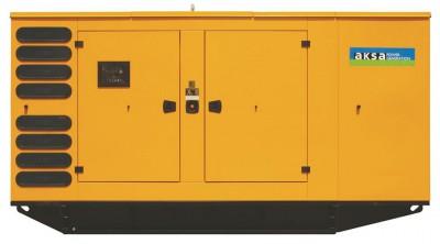 Дизельный генератор Aksa AVP-655 в кожухе