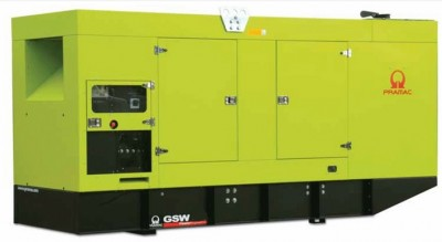 Дизельный генератор Pramac GSW 330 V в кожухе с АВР