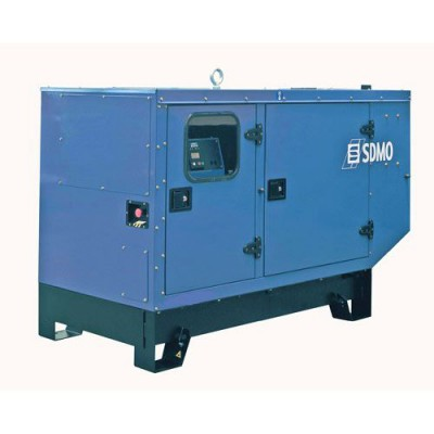 Дизельный генератор SDMO J22 в кожухе с АВР