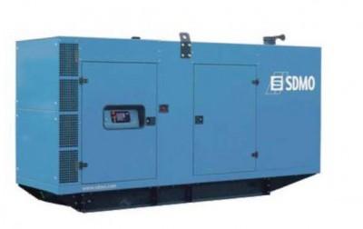 Дизельный генератор SDMO V350C2 в кожухе с АВР