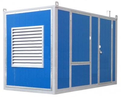 Дизельный генератор Atlas Copco QIS 10 230V в контейнере с АВР