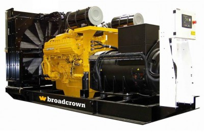 Дизельный генератор Broadcrown BCC 1250P с АВР