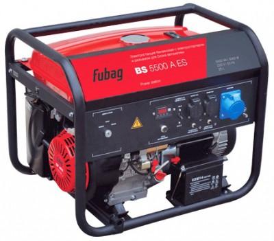 Бензиновый генератор Fubag BS 5500 A ES с АВР
