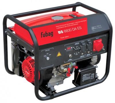 Бензиновый генератор Fubag BS 6600 DА ES с АВР