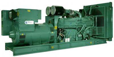 Дизельный генератор Cummins C550D5e с АВР