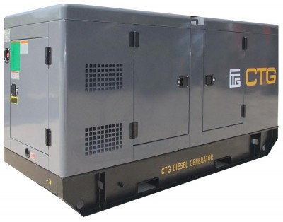 Дизельный генератор CTG AD-660WU в кожухе