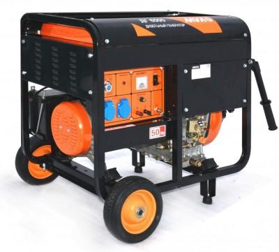 Дизельный генератор MVAE ДГ 6500