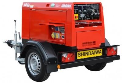 Сварочный генератор Shindaiwa DGW400DMK-S1
