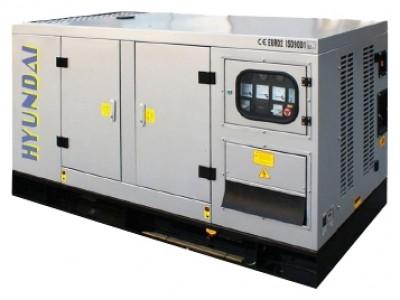 Дизельный генератор Hyundai DHY125KSE