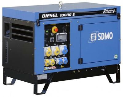 Дизельный генератор SDMO DIESEL 10000 E SILENCE с АВР