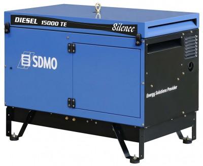 Дизельный генератор SDMO DIESEL 15000 TE AVR SILENCE с АВР