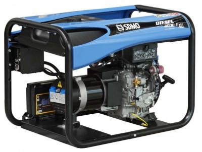 Дизельный генератор SDMO DIESEL 6000 E XL C M