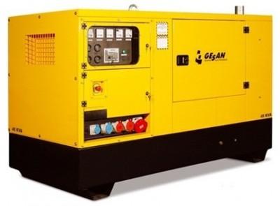 Дизельный генератор Gesan DPAS 90 E с АВР