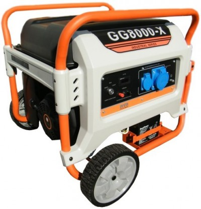 Газовый генератор REG E3 POWER GG8000-X3 с АВР