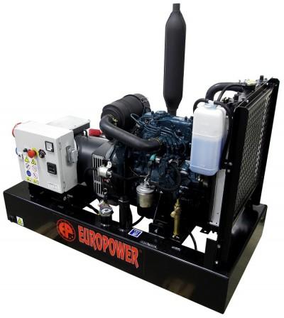 Дизельный генератор EuroPower EP 133 TDE