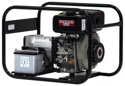 Дизельный генератор EuroPower EP 4000 DE с АВР