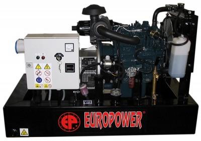 Дизельный генератор EuroPower EP 73 DE