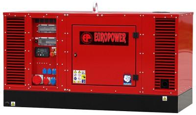 Дизельный генератор EuroPower EPS 34 TDE