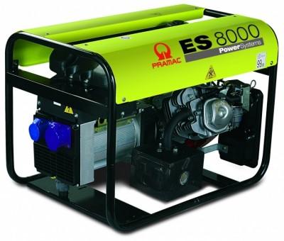 Бензиновый генератор Pramac ES8000 3 фазы