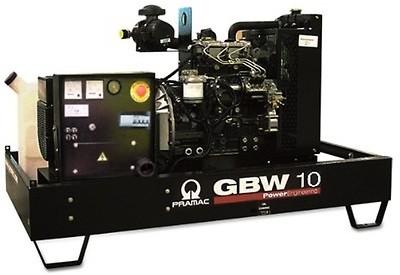 Дизельный генератор Pramac GBW 10 P 3 фазы