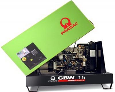 Дизельный генератор Pramac GBW 15 Y в кожухе AUTO