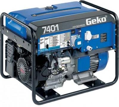 Бензиновый генератор Geko 7401 E-AA/HHBA