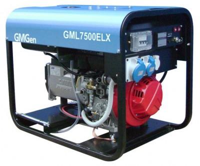 Дизельный генератор GMGen GML7500ELX