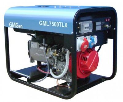 Дизельный генератор GMGen GML7500TLX