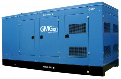 Дизельный генератор GMGen GMP400 в кожухе с АВР