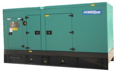 Дизельный генератор Power Link GMS140PXS в кожухе